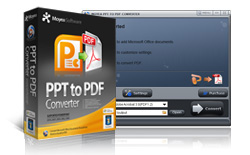 MOYEA PPT TO PDF CONVERTER screenshot